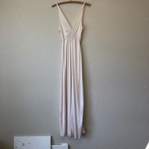 Vintage Flower Nightgown with Details